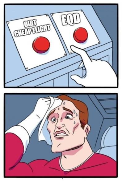 Cheap vs EQD