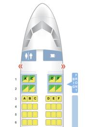 Seating map courtesy SeatGuru